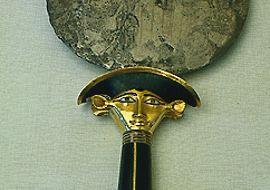 antico egitto la donna egizia allo specchio il